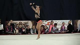 Kravtsenko Ksenija, born 2005, Tallin, Estonia , coach Ratsejeva N., Tjomuskina J.