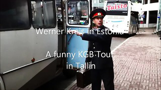 A funny _KGB_ Tour in Tallin, Estonia