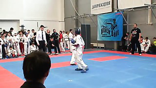 Danila Subachus Sparring 1 _Black Belt 2014