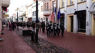 Eesti Vabariigi 96.aastapäev Pärnus- 24.02.2014