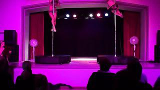 Pole Dance Tallinn Estonia ( City Dance Studio)_ Silja&Kadri