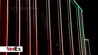 Презентационный ролик проекта освещения ТК _Нарва_ компании _Nedex_