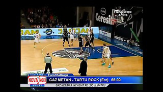 Marcel Ţenter după Gaz Metan vs Tartu Rock - NovaTv Mediaş