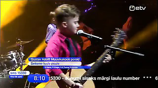Eesti Laul 2014 Gustav Adolfi Muusikakooli poisid ETV