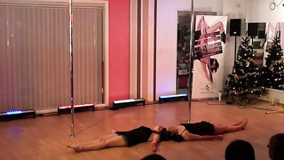 Pole Dance Estonia ( Great New Year Party in City Dance Studio, part III)