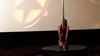 Pole Dance Estonia ( Great New Year Party in City Dance Studio, part VI)