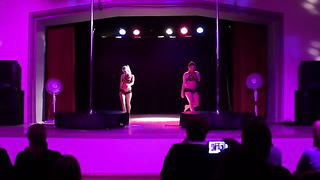 Pole Dance Tallinn Estonia ( City Dance Studio)_ Reili&Anneli