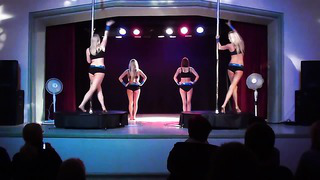 Pole Dance Tallinn Estonia ( City Dance Studio)_ Tiina&Elina&Brita&Kaisa