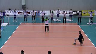 Tartu Bigbanki soojendus (abitreener Oliver Lüütsepp) - Schenker Liiga Final Four 2014