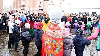 Празднование масленицы в Ласнамяе. КЦ Линдакиви
