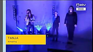 (Winner)Eurovision 2014 Estonia - TANJA Amazing( Eesti Laul 2014 - 1st Performance)