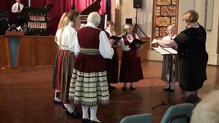 Estonian Ladies Choir - Eesti Maja Independence Day