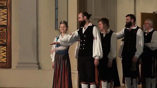 Estonian Folk Dancing at Eesti Maja Independence Day