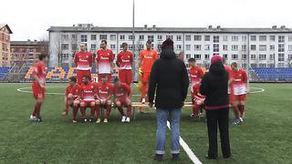 JK NARVA TRANS TV_ Фотосессия команды к сезону 2014