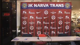 JK NARVA TRANS TV_ Встреча команды с болельщиками перед началом сезона 2014