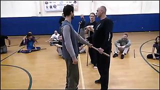 Тренировка с палкой (часть 1). Training with a stick (part 1)
