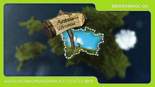 Keskkonnsõbralik ettevõte 2013 - Werrowool OÜ