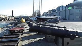Таллинн Морской Музей , штормит..26.03.2014 Панорама