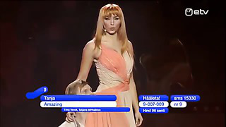 Eurovision Song Contest 2014 Tanja Amazing Estonia 2014 LIVE