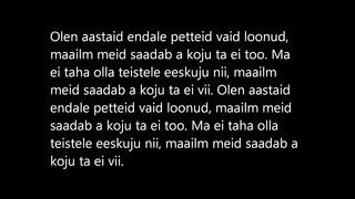 Põhja-Tallinn Petteid loonud (Sõnad) (Lyrics)