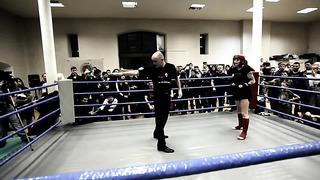 Диана Клава (MTA) vs Диана Рогозина (Garant,Estonia) K-1