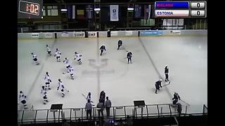 09.04.2014. ICELAND - ESTONIA - 1. period