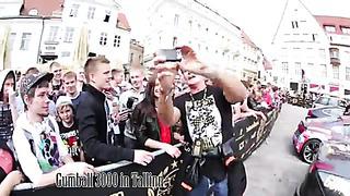 Gumball 3000 in Tallinn with David Hasselhoff