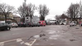 Обстановка на границе Эстония Россия пропускной пункт Нарва