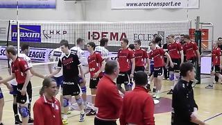 13 Aprill 2014 - Eesti meistrivõistluste finaalseeria 5 mäng Selver 0 _ 3 Tartu