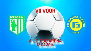 VII voor Tallinna FC Flora - JK Narva Trans 1_0 (0_0)