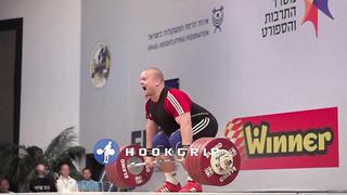 Mart Seim (+105kg, Estonia) - 236kg Clean