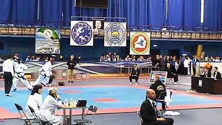 Aleksander Joonasing, Fight 2, Round 2, European Taekwondo ITF Championship, Minsk 2014.