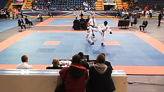 Nikita Sologub (Blue), Round 2,European Taekwondo ITF Championship, Minsk 2014