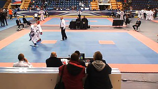 Nikita Sologub (Blue),Round 1,European Taekwondo ITF Championship, Minsk 2014