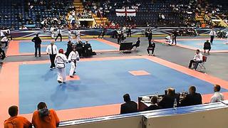 Vladislav Zharov, Fight 3, European Taekwondo ITF Championship, Minsk 2014