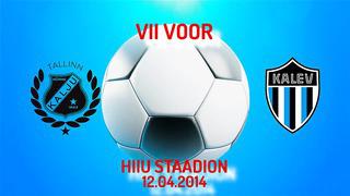 VII voor Nõmme Kalju FC - JK Tallinna Kalev 2_1 (2_0)