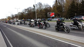 Biker parade in Tallinn, Estonia 30.04.2014 part 2
