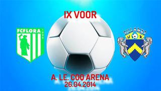 IX voor Tallinna FC Flora - JK Sillamäe Kalev 1_1 (0_1)