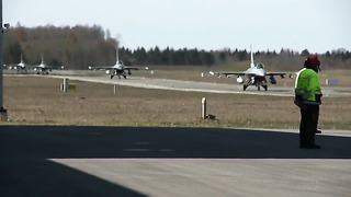 NATO Air Strength Triples in Baltic States