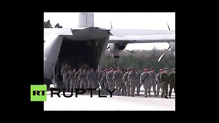 Video_ US deploys troops to Estonia
