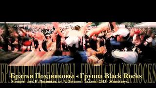 Братья Поздняковы - Группа Black Rocks - Stronger - Таллин - 2013