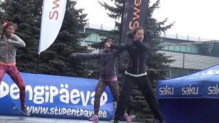 Tartu Kevadpäevad 2014 _ Kevadaeroobika _ DanceFusion