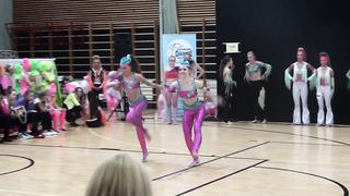 Angela ja Lisette discodance duo juniors Tallinn Cup 2014