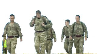 Ukraine Crisis_ British Troops Arrive in Estonia BBC News