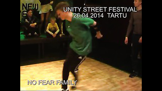 UNITY STREET FESTIVAL 26 04 2014 TARTU Nikita Green Tolik