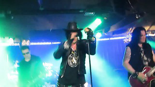 The 69 Eyes-Radio Rock(Silja Europa) Helsinki-Tallinn-3.05.2014
