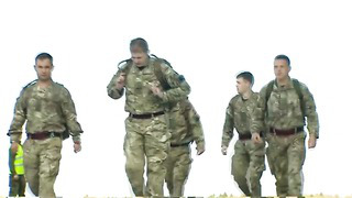 Ukraine Crisis_ British Troops Arrive in Estonia - BBC News