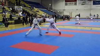 Zinovkin Maksim Karate Eesti MV 2014 Rakvere MU14_ -52 kg , III round