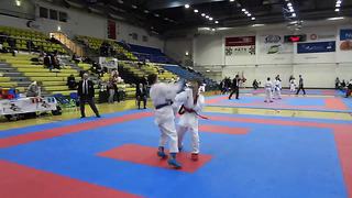 Zinovkin Maksim Karate Eesti MV 2014 Rakvere MU14_ -52 kg , I round