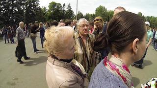 Делегат ОБСЕ Тийт Матсулевич (Эстония) на Куликовом поле